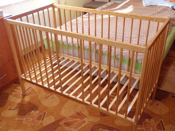 Łóżeczko drewniane Drewex