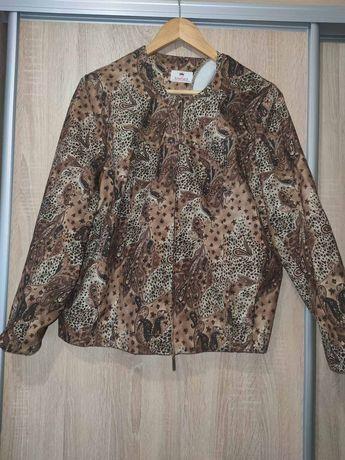 Куртка пиджак с шикарным рисунком. Идеальное состояние