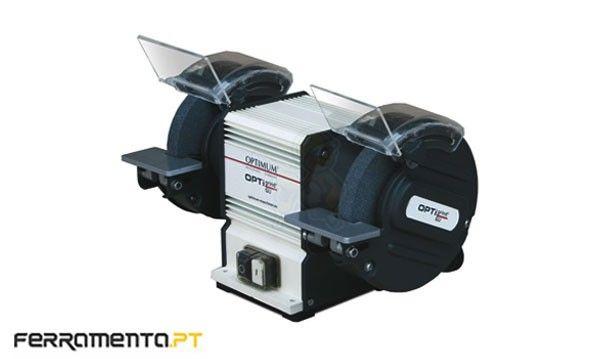 Esmeriladora Industrial de Bancada 200mm Optimum GU20