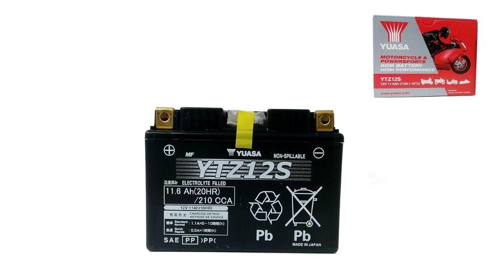 Akumulator YUASA YTZ12S HPMF (AGM) 11.6Ah 210A 12V L+ Wrocław - image 1