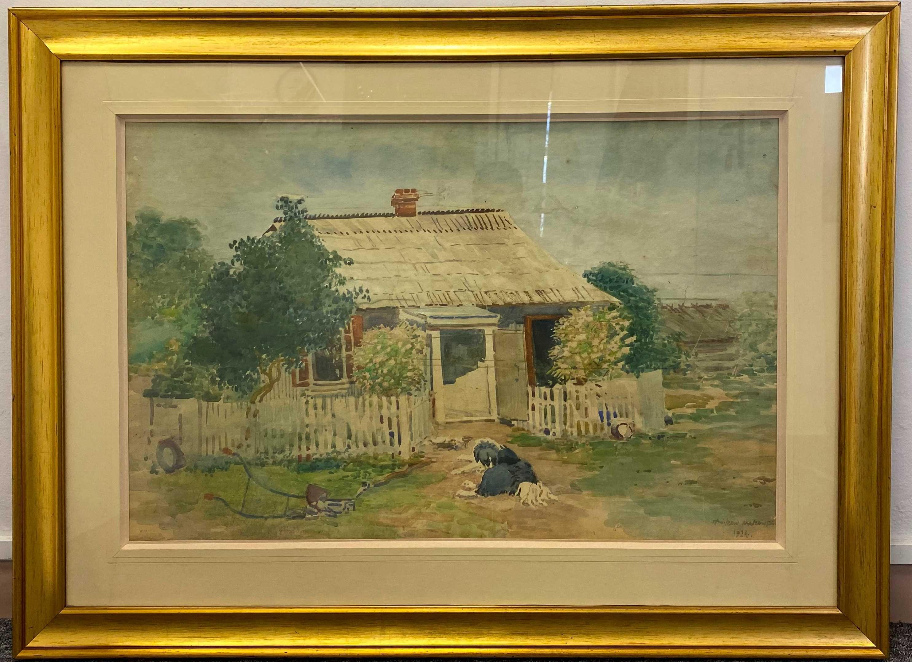 Obraz Stanisław Masłowski 1924