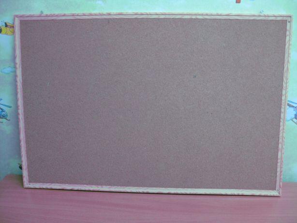 470 р. Доска пробковая 60x90