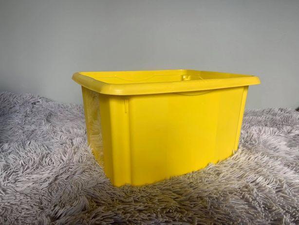 Żółte pudełko / pudło do przechowywania - HIT!