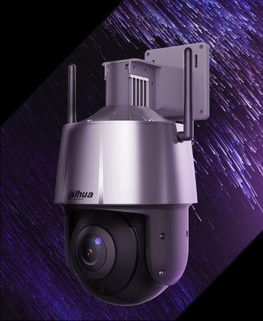 IP видеокамеры Dahua PTZ Wi-Fi AI на Дачу