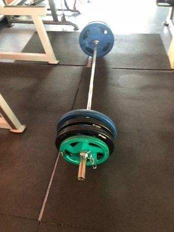 Гриф олимпийский блины на штангу 160 кг