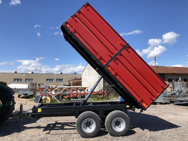 Przyczepa - TANDEM 7,5 tony - wysokiego skladowania RESOR - IDEALNA