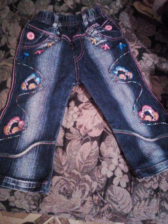 Продам джинсики для девочки 2-3х лет
