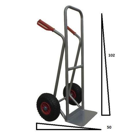 Carrinho de mão de rodas pneumaticas