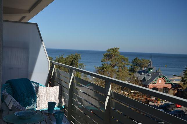 Mały przytulny apartament z widokiem na morze. B. dobra lokalizacja.