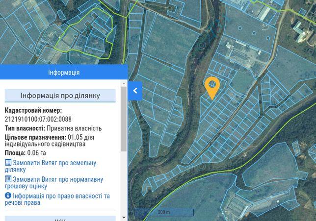 Земельна ділянка / участок під забудову 6 сот
