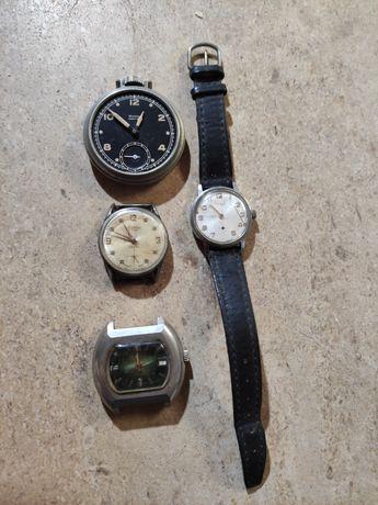 4 relógios antigos