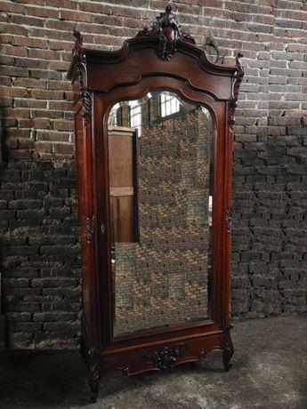 *Niespotykana, rzeźbiona piękna szafa z lustrem*transport
