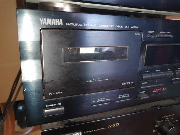 Pioneer Amplificador A 333 / YAMAHA rádio tx 480/ deck KX-W321 k7