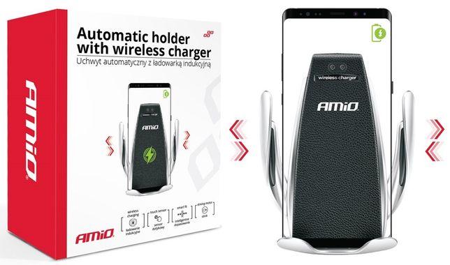 UCHWYT Na Telefon Automatyczny ŁADOWARKA INDUKCYJNA Quick Charge QC 3