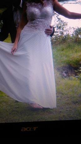 Suknia ślubna XL na wysoką osobę