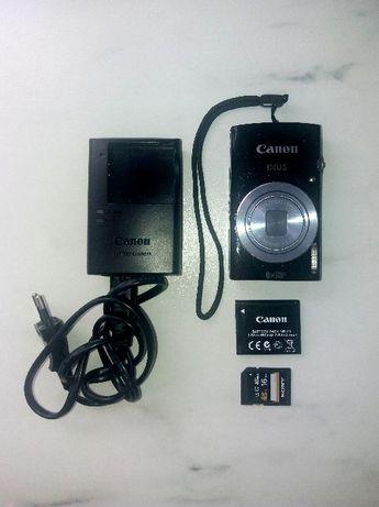 Aparat Canon IXUS 145 czarny Karta SD 16GB Sony Wrocław