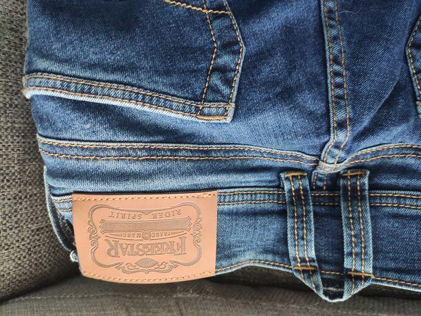 Spodnie motocyklowe jeansowe damskie FreeStar