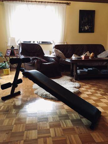 Ławeczka regulowana do brzuszków SOLIDNA ćwiczeń ławka siłownia skośna