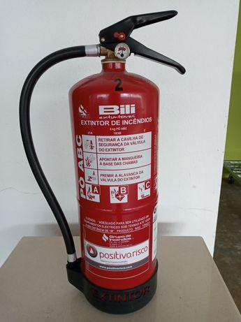 Extintores como novos