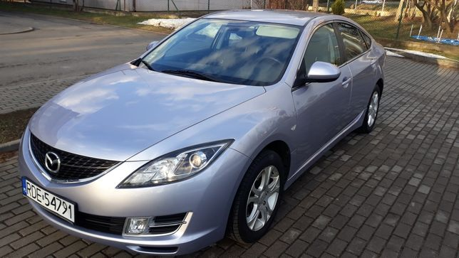 Mazda 6 1.8 benzyna mały przebieg