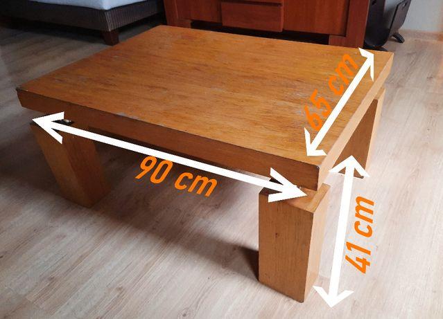 stolik z drewna salon ogród ława