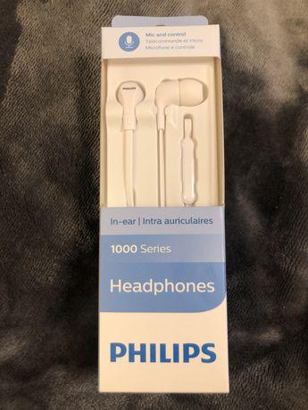 Sluchawki przewodowe PHILIPS TAE1105 - nowe
