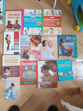 Książki dla przyszłej mamy, duży zestaw