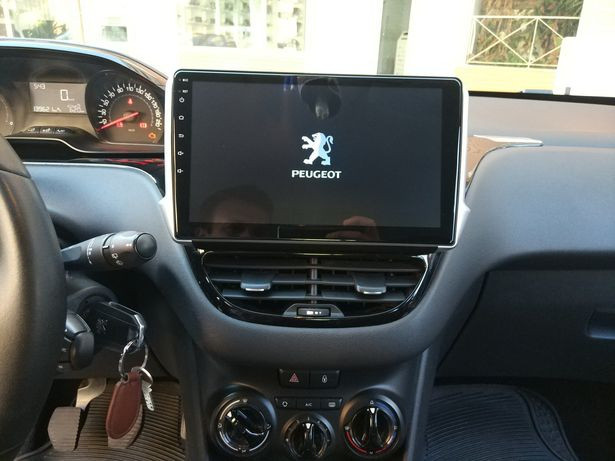 Auto rádio Peugeot 208 e 2008 gps USB Bluetooth android