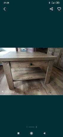 Stół stolik ława jysk manderup dziki dąb