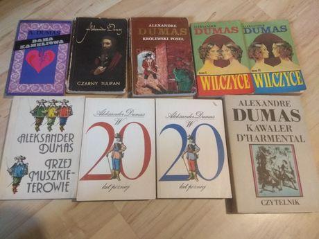 Aleksander Dumas - 9 książek