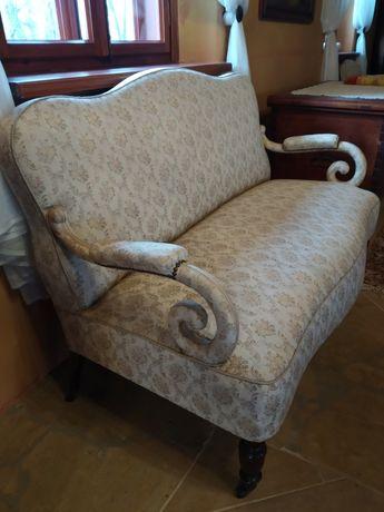 Sofa plus fotel antyk