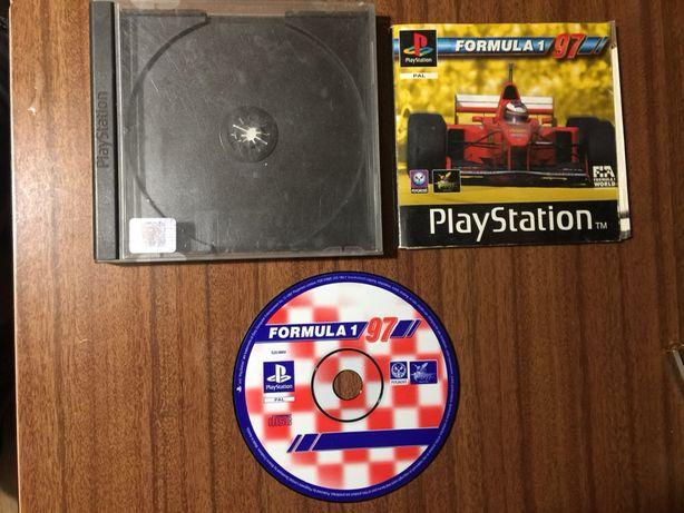 Jogo PlayStation 1 Fórmula 1 97
