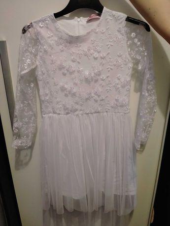 Sukienka plus bolerko