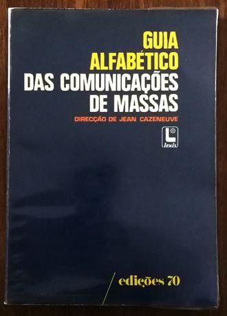 guia alfabético das comunicações de massas, jean cazeneuve