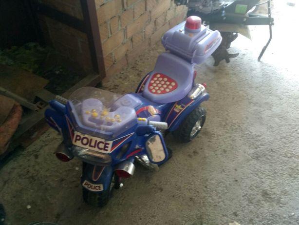 Электромотоцикл, детский мотоцикл на аккумуляторах