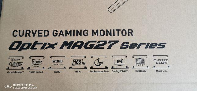 Monitor gamingowy MSI Optix MAG272CQR
