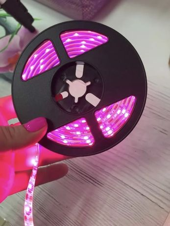 Fitas de luz (LED) para cultivo de plantas   3m   Artigo novo