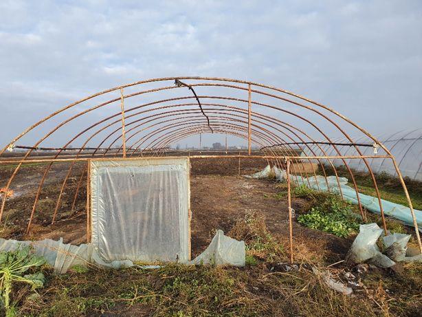 Namiot ,tunel foliowy na rozsadę bób, pomidor ogórek konstrukcja