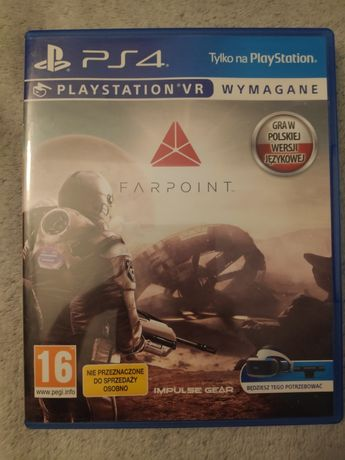Gra Farpoint na ps4/ps5 vr