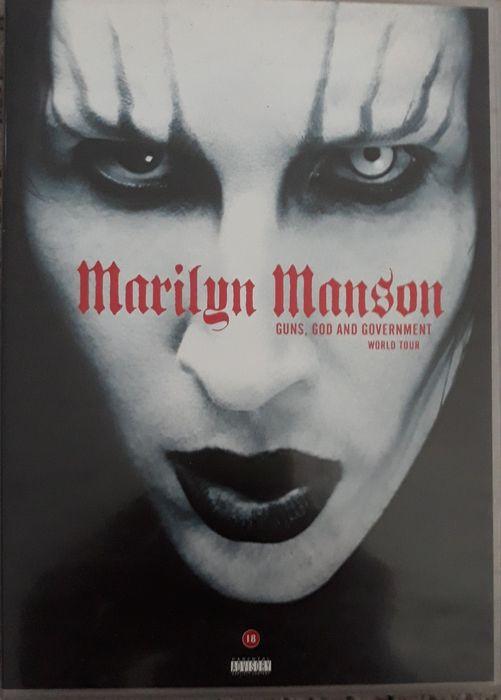 DVD Marilyn Manson - Guns God & Government World Tour Olivais - imagem 1