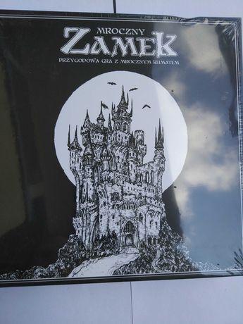 Gra Mroczny Zamek, nowa w folii, lekko uszkodzone pudełko