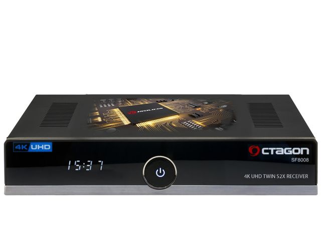 box satelite Octagon SF8008 combo 4K