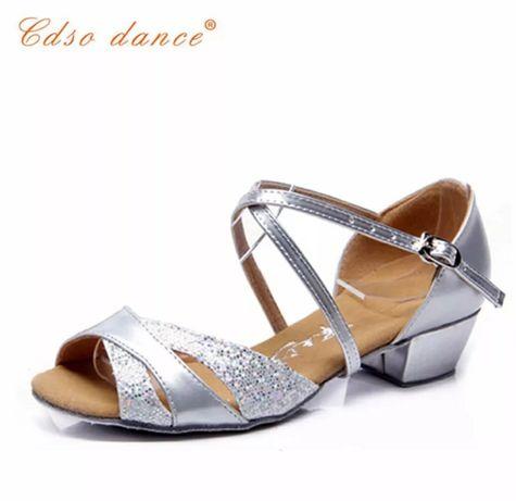 Туфли для бальных танцев и латина детские, бальные туфли.
