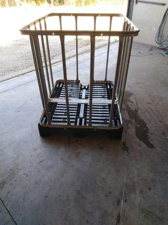 Grade de ferro /palete de plástico /estrutura /caixa de ferro