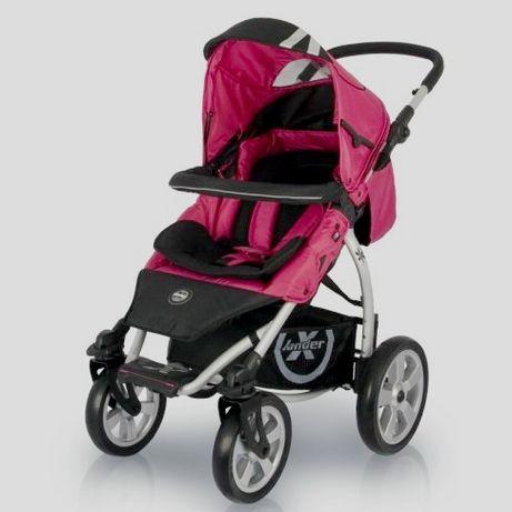 X-LANDER XA wózek śpiworek parasolka torba STAN IDEALNY