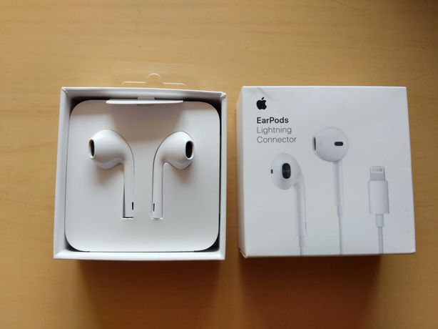 Auricular Earpods lightning Apple novo