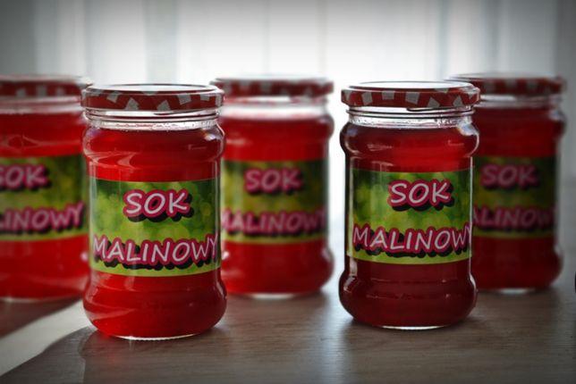 Soki malinowe /sok malinowy ekologiczny WYSYŁKA