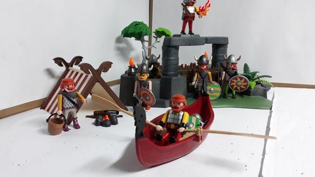 Playmobil obóz wikingów