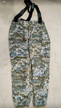 Теплые военные штаны, камуфляж