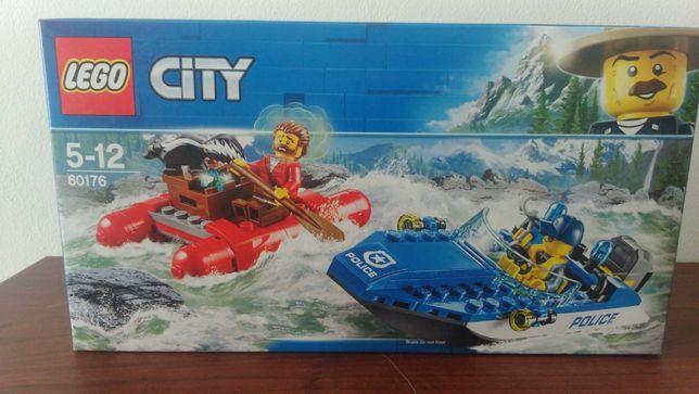 Nowe Klocki Lego 60176 Lego City Ucieczka Rzeką 60176